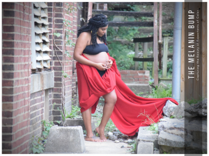 Dominiece Clifton Maternity Shoot in the Warehouse District of Baltimore Maryland
